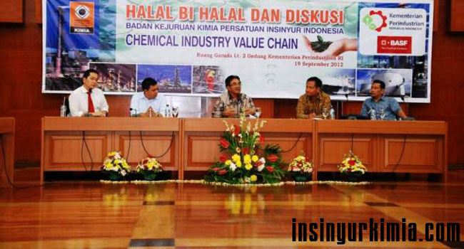 Diskusi Chemical Industry Value Chain, Tahun 2012